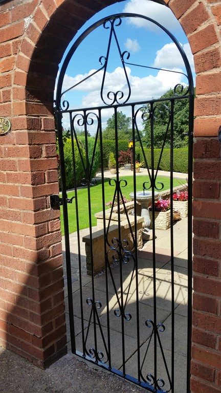 6 foot Passage Way Iron Gate