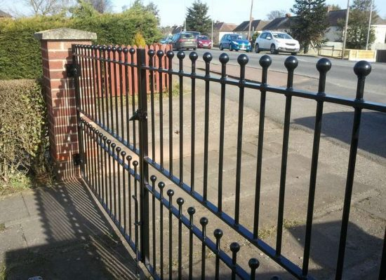 Iron Double Gates