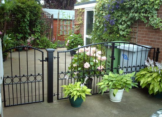 Decorative Iron Gates