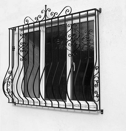 Curved Window Grille