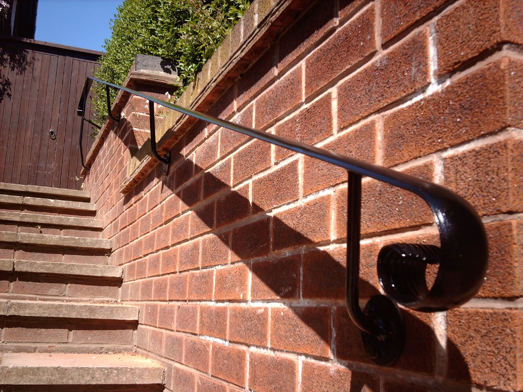 iron Handrail for steps