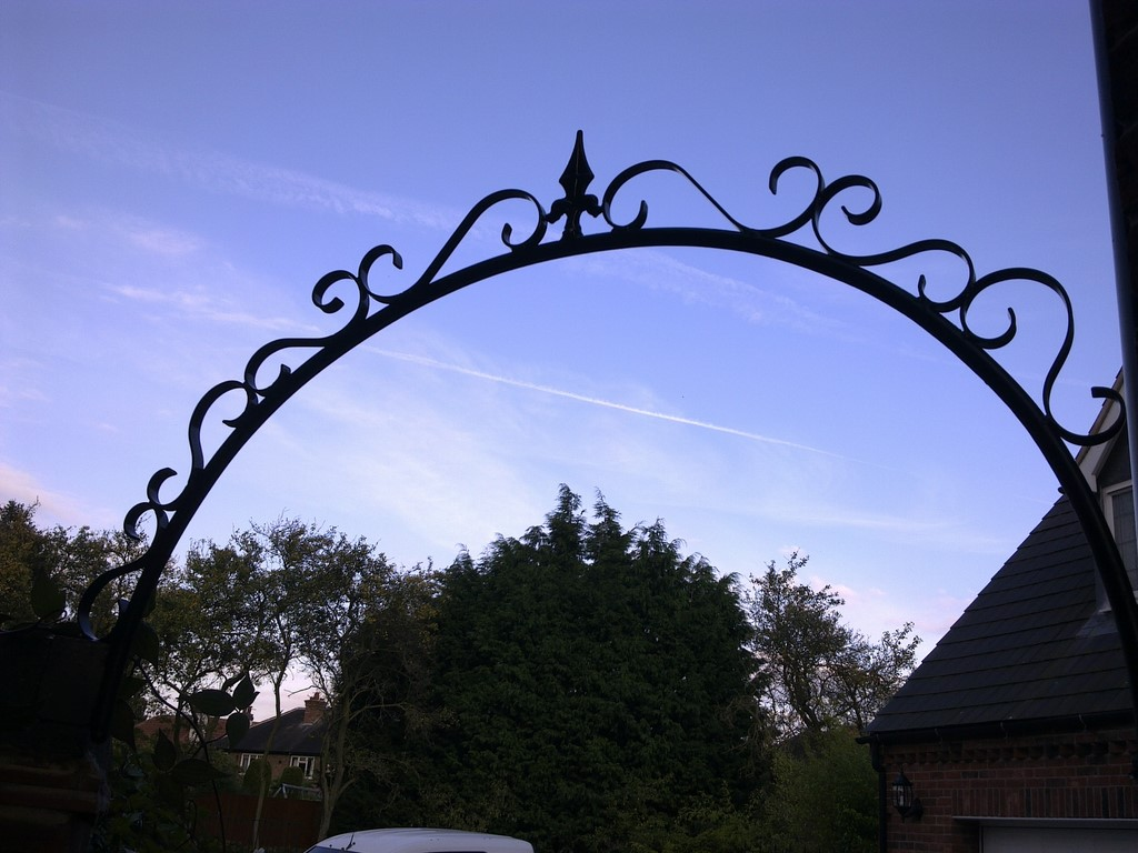 decorative gate arch