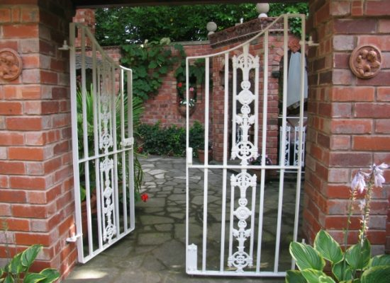 Wrought Iron Small Double Gates