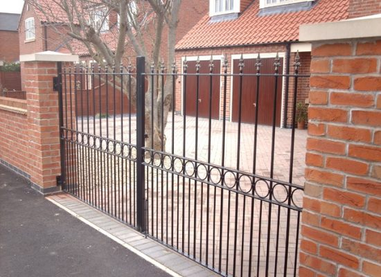 Heavy Duty Iron Gates
