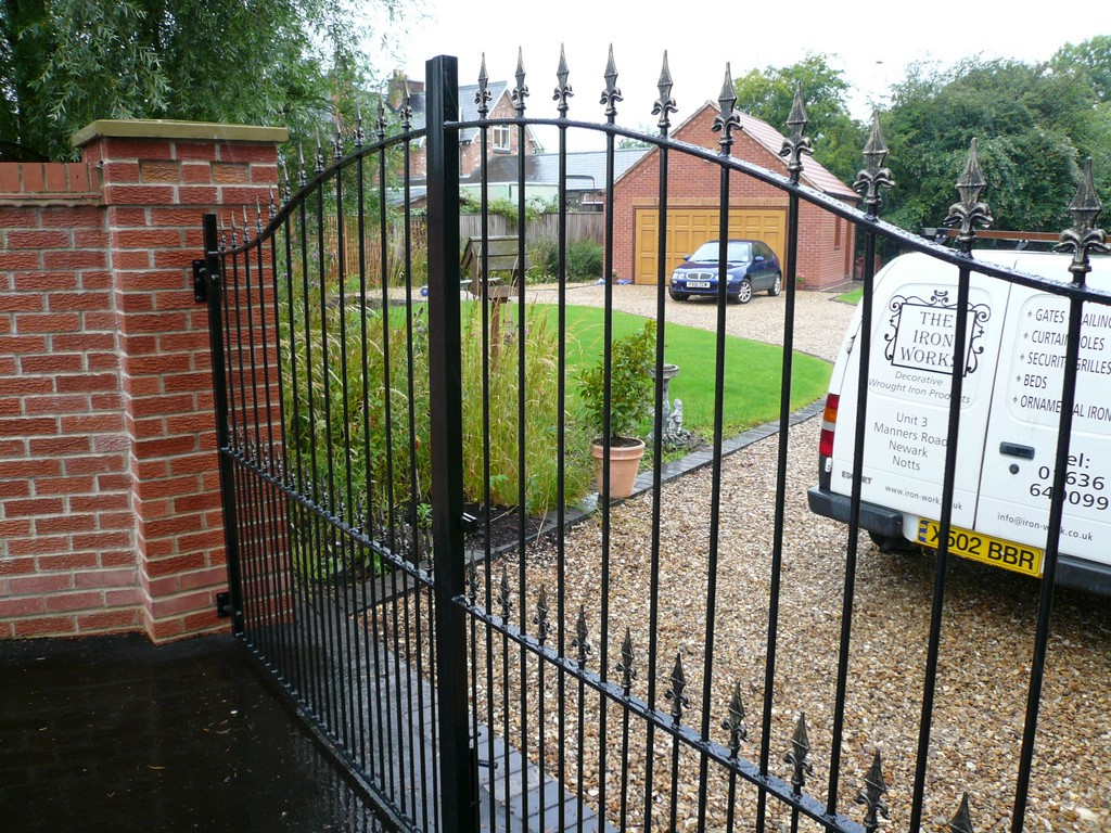 Heavey Iron Decorative Gates
