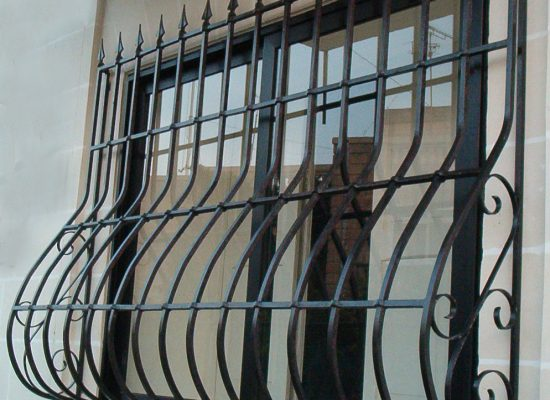 Bowed Security Grill
