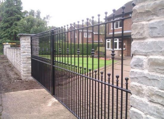 Heavy Double Iron Gates