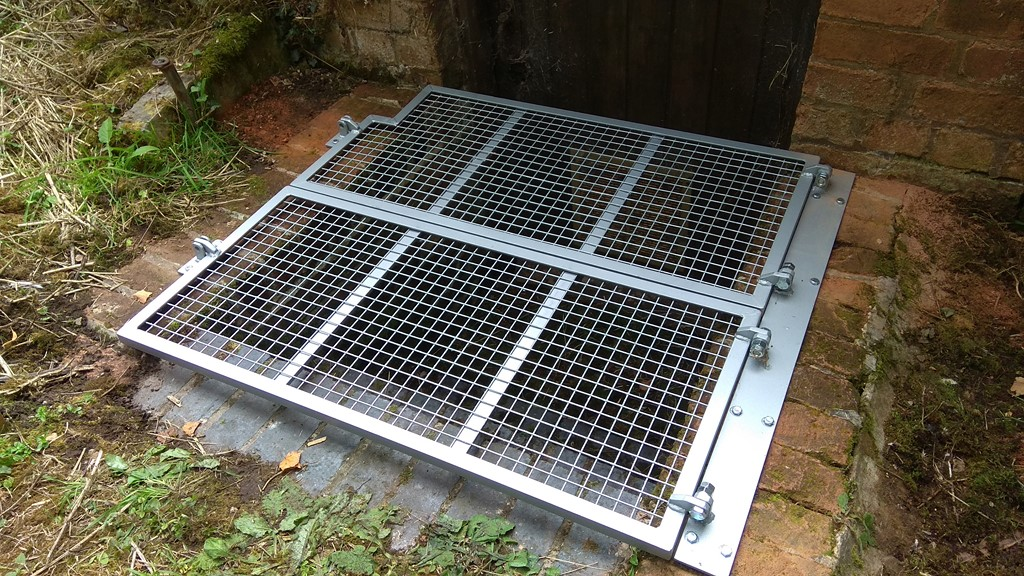 Security Trap Door Grille