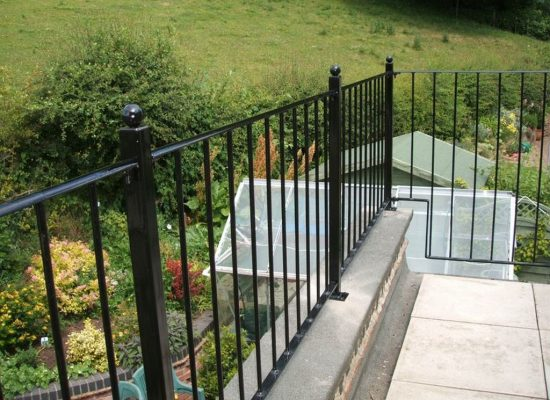 Flat Roof Balustrade