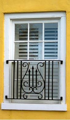 Ornate Window Guard