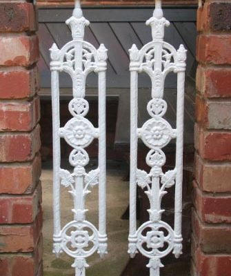 Wrought Iron Infill Panels